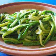 Strangozzi (di Zucchine) Aglio, Olio e Peperoncino