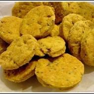 Biscotti Salati al Curry con Semi di Papavero