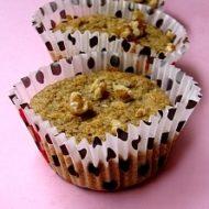Muffins D'Avena con Banane e Noci