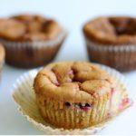 Muffins con Fragole e Mascarpone
