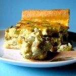 Quiche di Sedano e Roquefort in Crosta di Pane