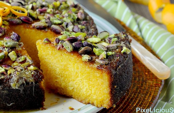 torta farina gialla arancia pistacchi 3 72dpiok
