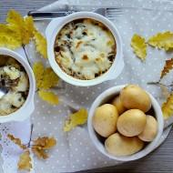 Tortini di Patate, Funghi Pioppini e Gorgonzola