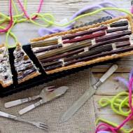 Crostata Salata di Ricotta, Caprino e Biete con Coste Colorate
