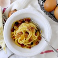 I miei Spaghetti alla Carbonara per il Club del 27