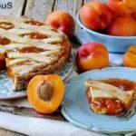 Crostata Morbida con Confettura di Albicocche alla Cannella e Cioccolato Bianco