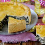 Torta Rustica con Bietoline, Ricotta e Salsiccia