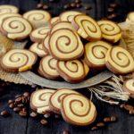 Biscotti Vortici al Cacao e Caffè