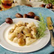 Bocconcini di Pollo con Marsala e Castagne