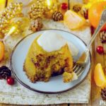 Mini Christmas Puddings alle Clementine